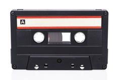 减速火箭的卡型盒式录音机 库存照片