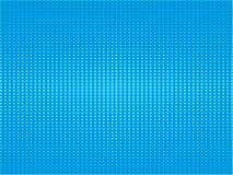 减速火箭的可笑的蓝色背景光栅梯度半音流行艺术浸泡 向量例证