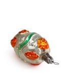 减速火箭的圣诞节玩具 免版税图库摄影