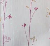 减速火箭的在浪漫感觉的鞋带花卉无缝的样式桃红色织品背景葡萄酒样式 免版税库存照片