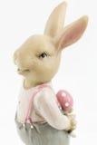 减速火箭的复活节男性兔宝宝 免版税库存照片