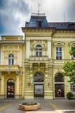 减速火箭的大厦在苏博蒂察市,塞尔维亚 免版税库存图片
