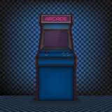 减速火箭的娱乐游戏机器 库存例证