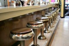 减速火箭的小餐馆 库存照片