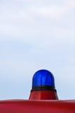减速火箭的应急灯 免版税库存照片