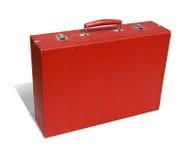 减速火箭的手提箱 免版税库存图片