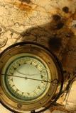 减速火箭的指南针 图库摄影