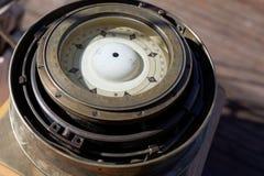 减速火箭的指南针 免版税库存照片