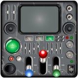 减速火箭的控制板 库存例证