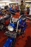 减速火箭的摩托车 免版税图库摄影