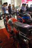 减速火箭的摩托车 免版税库存照片