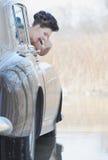 减速火箭的新娘 免版税库存照片