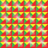 减速火箭的无缝的五颜六色的样式 库存照片
