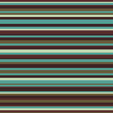 减速火箭的无缝的条纹样式葡萄酒颜色 免版税库存图片