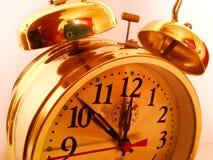 减速火箭的时钟 免版税库存照片