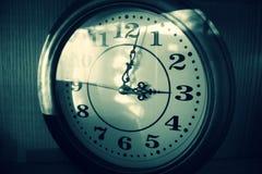 减速火箭的时钟 免版税库存图片