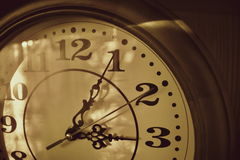 减速火箭的时钟 库存照片