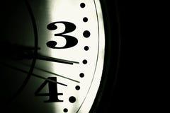 减速火箭的时钟 免版税图库摄影
