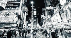 减速火箭的时代广场纽约 免版税库存照片