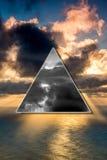 减速火箭的明信片 图库摄影