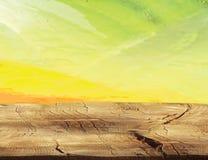 减速火箭的木背景土气木纹理 免版税库存图片