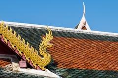 减速火箭的样式屋顶 免版税库存图片