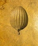 减速火箭的样式气球 免版税库存图片