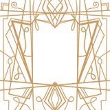 减速火箭的样式,葡萄酒党 伟大的Gatsby样式横幅或明信片 向量例证