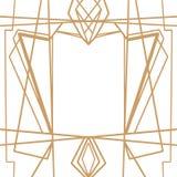 减速火箭的样式,葡萄酒党 伟大的Gatsby样式横幅或明信片 皇族释放例证