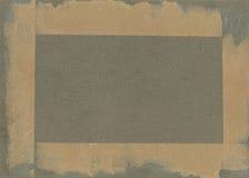 减速火箭的样式 照片或文本的框架从有二面对切的裁减的纸板席子 图库摄影