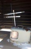 减速火箭的气象台仪器 免版税库存照片
