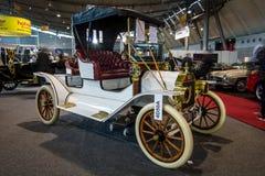 减速火箭的汽车福特模型T Roadster, 1911年 免版税图库摄影