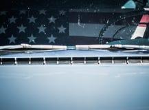 减速火箭的汽车零件特写镜头  免版税库存图片