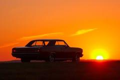 减速火箭的汽车 图库摄影
