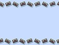 减速火箭的混合磁带无缝的样式 信件格式 皇族释放例证
