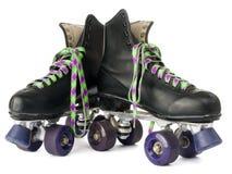 减速火箭的溜冰鞋 免版税库存照片