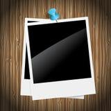 减速火箭的照片框架 库存照片