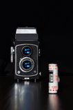 减速火箭的照相机 免版税库存图片