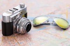 减速火箭的照相机 免版税库存照片