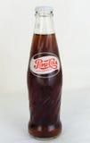 减速火箭的瓶百事可乐 库存照片