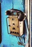 减速火箭的电力机车电话 免版税库存照片