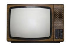 减速火箭的电视 免版税库存图片