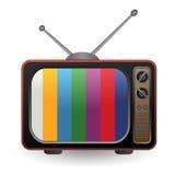 减速火箭的电视 向量例证