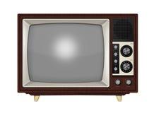 减速火箭的电视 免版税库存照片