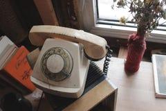 减速火箭的电话 免版税库存照片