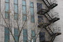 减速火箭的砖瓦房窗口 免版税库存图片