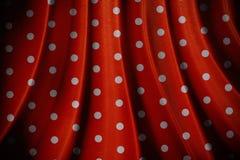 减速火箭的红色圆点样式 免版税库存照片