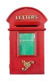 减速火箭的红色Letterbox 免版税库存图片