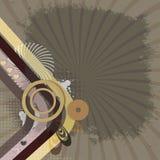减速火箭的背景 图库摄影