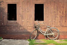减速火箭的自行车 免版税库存照片